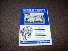 Worksop Town v Southport, 1986/87 [PC]